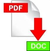 Конвертирование PDF в DOC