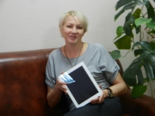 Победитель Автодоркомплект с iPad-ом