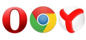 Chrome 20+, Opera 15+, Yandex.Browser 13+