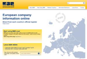 Европейский бизнес-регистр (European Business Register, EBR)
