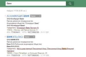 Списки в результатах поиска Контур.Фокус