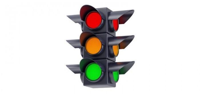 Цветные маркеры светофор