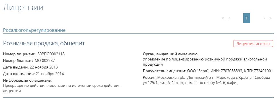 Лицензии в Прима-Информ