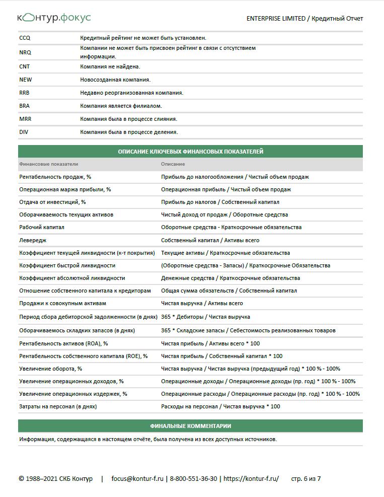 Контур-Фокус Бизнес-справка стр. 6
