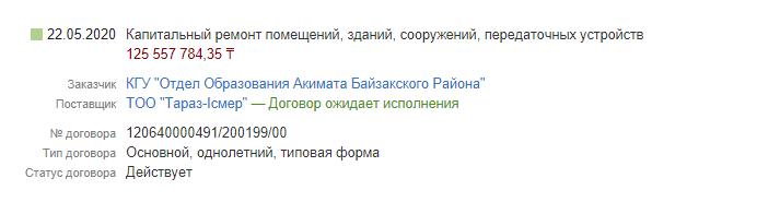 Госзакупки Казахстан 2